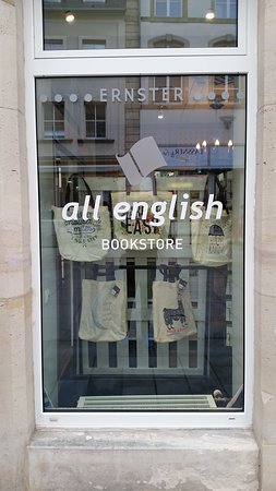 All English BOOKSTORE