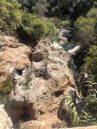 Coín, España: The waterfalls
