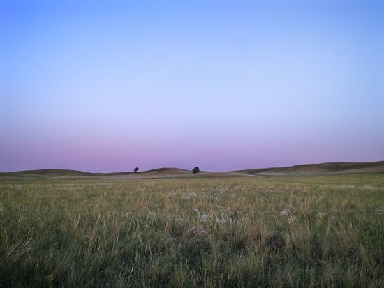 Kartaly, Ρωσία: Steppe in Russland.