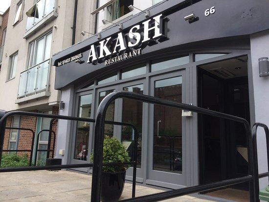 Akash Restaurant Horsham Menu Prices Restaurant Reviews