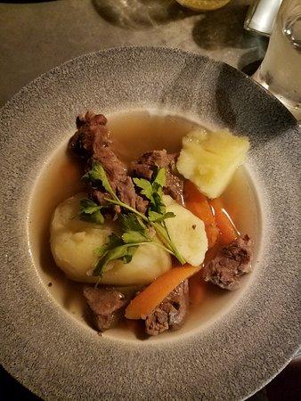 Irish Stew made with lamb at 1520 Bar