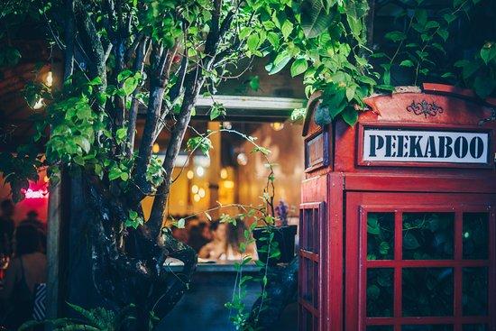 Peekaboo Canggu: Spot this phone cabin and welcome