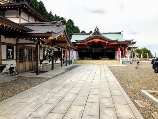 The Central Shrine of Ishizuchi Jinja