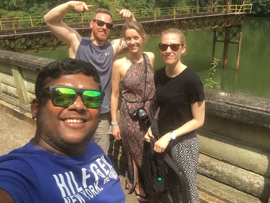 Lovely guys from Germany kandy Sigiriya and Adams peak thank you for join with as