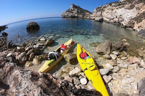 Tour in Kayak e trekking alla Sella