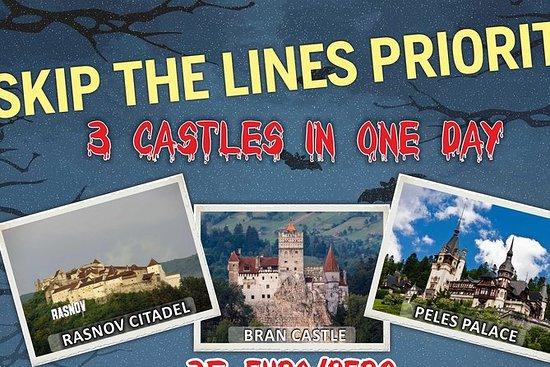 3 CASTLES Daytrip from Brasov