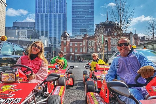 Guided Go-Kart Tour Experience on the...