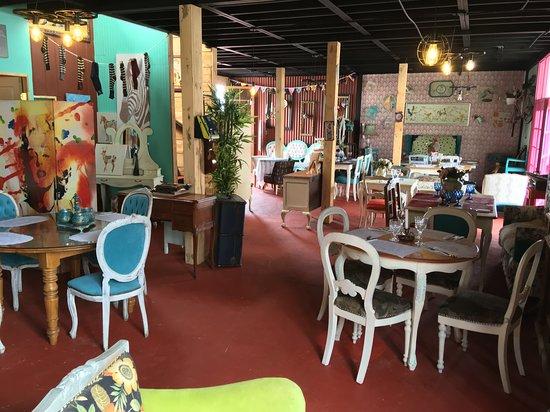 Coquimbo Region, ชิลี: Restaurant decoration