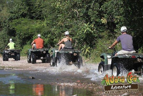 ATVs tur til La Noria pueblo señorial