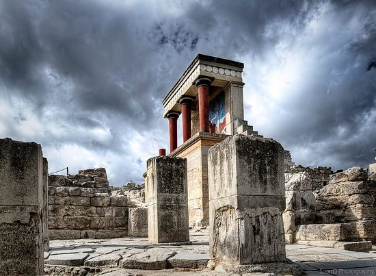 Knossos. Crete. Kriti. Κρήτη. Griechenland Greece grece. Grecia. Beauty of ancient Greece.
