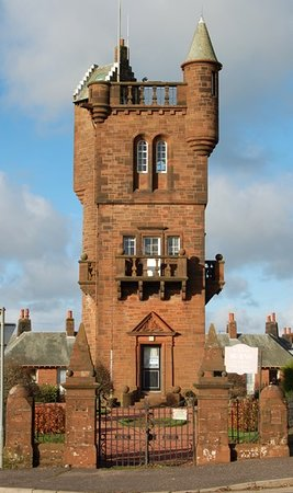 Mauchline, UK: Burns tower