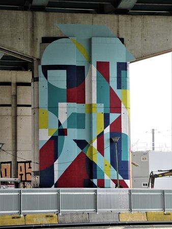 """Fresque """"Pilier pont 4"""""""