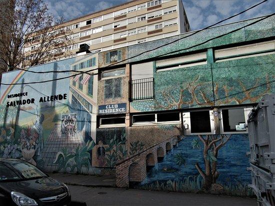"""Fresque """"Salvador Allende"""""""