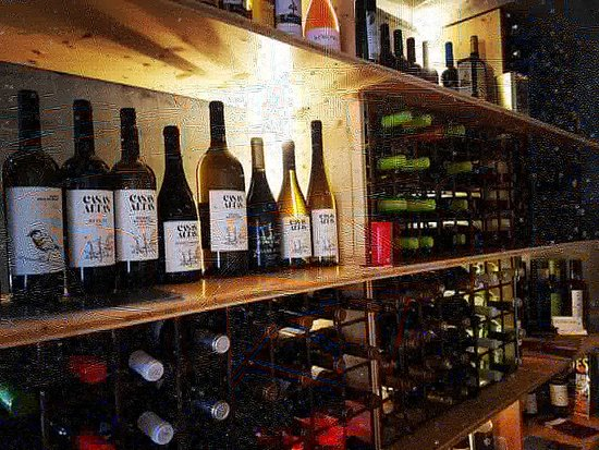 ENTRE PORTAS: Superbe Restaurant, superbe Cave, Vins locaux adega de Pinhel,etc