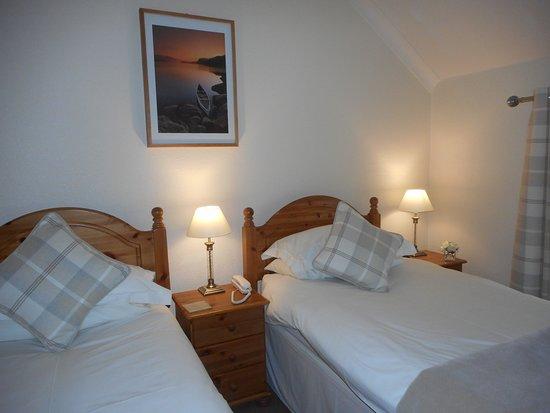Carnwath, UK: Twin Room