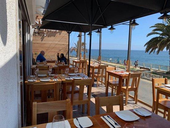 Terraza Central Espectacular Vista Del Mar Picture Of