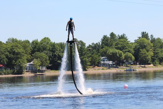 No Boundaries X-Treme Adventures: Ever try flyboarding? Put it on your TO DO list for this summer!!
