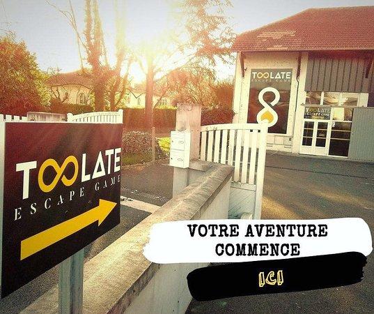 Toolate Escape Game Pau