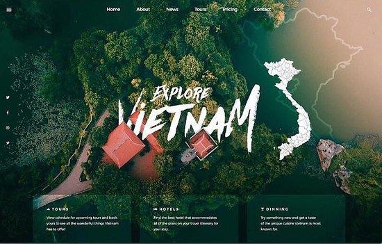 Vietnam: Travel & Blogging Website Design 💡 #WordPress #WebSites #Designs #432DLS ' www.432.gr