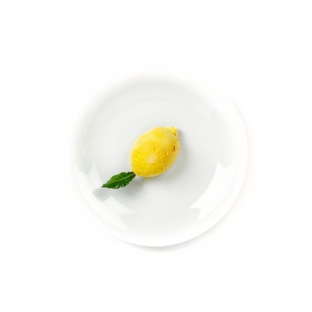 Guscio di meringa con crema al mascarpone e limone