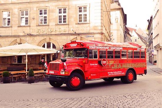 Der BambergBus - Hop on Hop off - Stadtrundfahrten