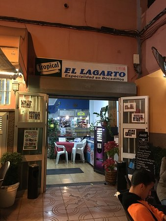 Aguimes, Spagna: Bar Cafeteria El Lagarto