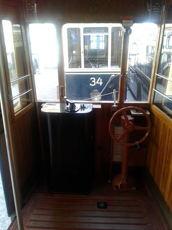 Trams-Musée Luxembourg : tramway poste pilotage