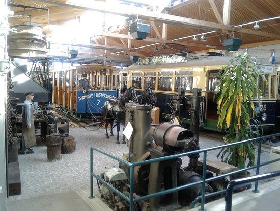 Trams-Musée Luxembourg : vue générale annexe