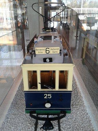 Trams-Musée Luxembourg : tramway modèle réduit