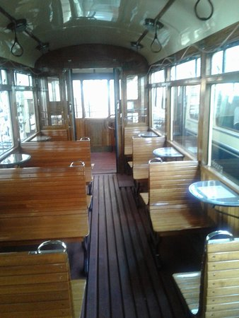 Trams-Musée Luxembourg : tramway banquettes