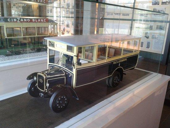Trams-Musée Luxembourg : autobus ancien