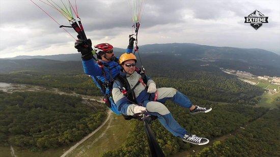 Paragliding Sarajevo