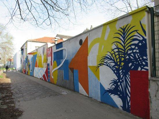 Saint-Denis, Francia: La grande façade