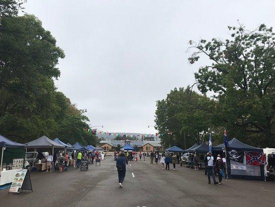 Goulburn, Úc: Parkside Community Markets