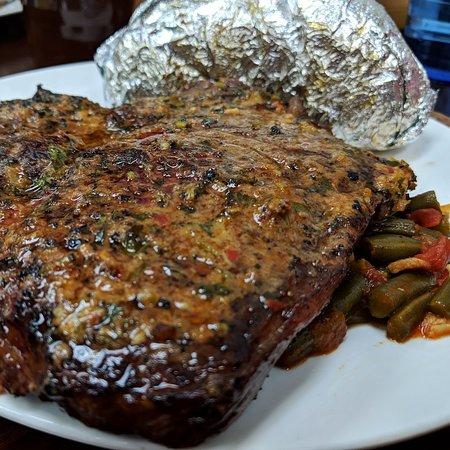 T-Bone steak night
