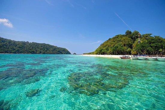 从Krabi到Koh Rok和Koh Ha的全日浮潜之旅
