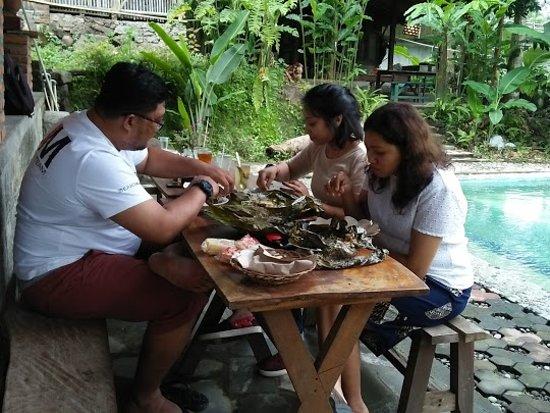 Turi Pamantani Kopi & Resto, pepes nilanya paling enak sedunia