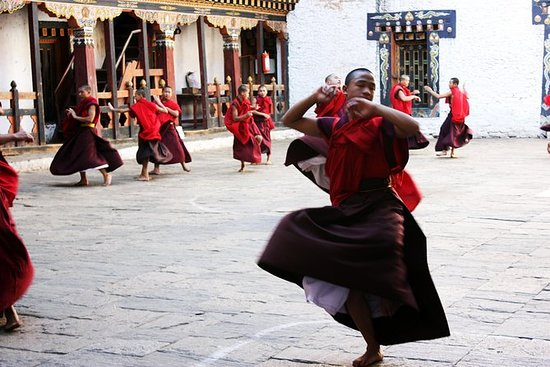 Giro del Grand Festival di Wangdue e