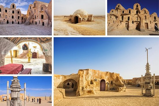 6 Days Tunisia Star Wars Locations...