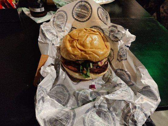 Hambúrguer delicioso!