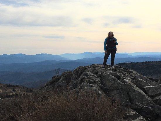 Mouth of Wilson, VA: Wilson Ridge Trail off the Appalachian Trail in Virginia.