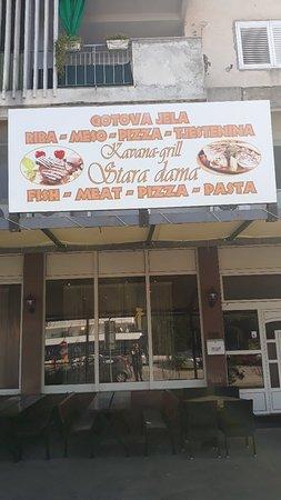 Ploce, Croatia: Kavana Grill Stara Dama