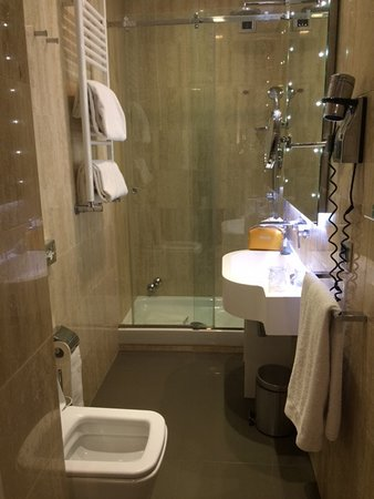 Hotel Artemide: Bathroom
