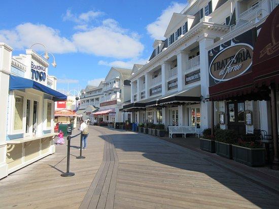 Disney\'s Boardwalk map - Picture of Disney\'s Boardwalk, Orlando ...