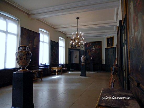 La galerie des souverains