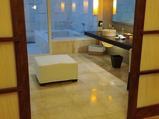 bathroom of villa