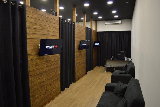 Patrasso, Grecia: 3 Virtual Reality Rooms.