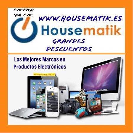 La Murada, สเปน: Adéntrate en el mundo de la electronica con Housematik.   Housematik es una tienda online que comercializa productos electrónicos de calidad con las mejores marcas del mercado. Tenemos mucha variedad de electronica como ordenadores, portatiles, periféricos, telefonos moviles, software, todos estos son algunos de ellos, con el stock actualizado y a un precio muy competente  www.housematik.es