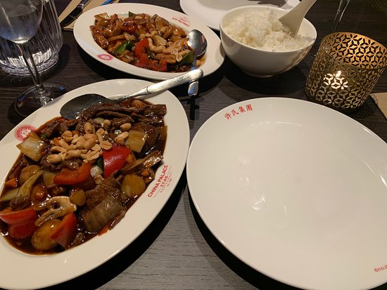 Pleasant chinese everyday dishes