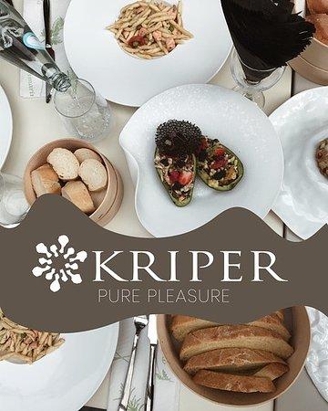 KRIPER pure pleasure. The real italian restaurant in Tirana. Italian kitchen, albanian heart.